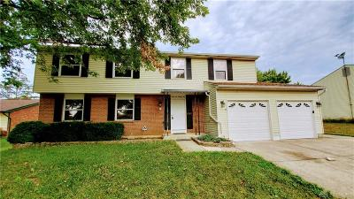 Dayton Single Family Home For Sale: 4621 Strathaven Drive