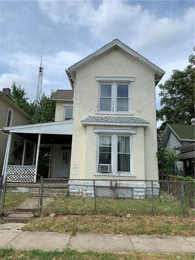 Dayton OH Single Family Home For Sale: $39,900