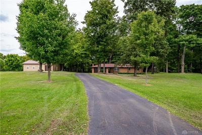 Dayton Single Family Home For Sale: 9882 Preble County Line Road