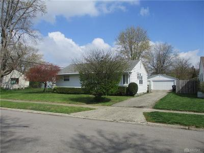 Dayton Single Family Home For Sale: 5313 Roxford Drive