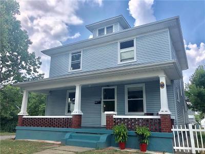 Dayton Single Family Home For Sale: 301 Baltimore Street