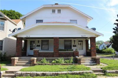 Dayton Multi Family Home For Sale: 3415 5th Street