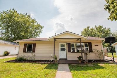 Xenia Single Family Home For Sale: 133 Lowell Road