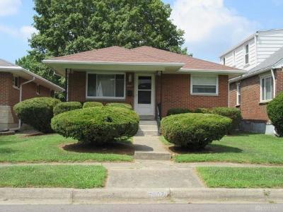 Dayton Single Family Home For Sale: 2907 Wayland Avenue