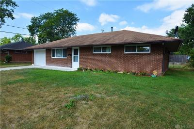 Huber Heights Single Family Home For Sale: 5709 Beth Road