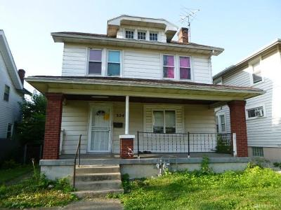 Dayton OH Single Family Home For Sale: $17,900