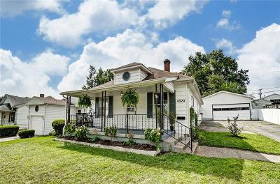 Dayton Single Family Home For Sale: 4020 Arcadia Boulevard