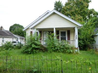 Dayton OH Single Family Home For Sale: $19,900