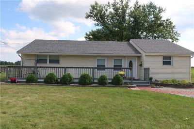 Brookville Single Family Home For Sale: 11398 National Road