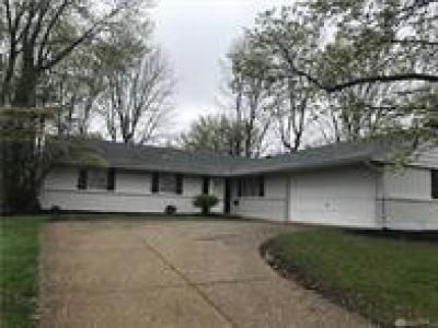 Dayton OH Single Family Home For Sale: $180,000