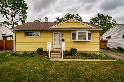 Dayton OH Single Family Home For Sale: $57,900