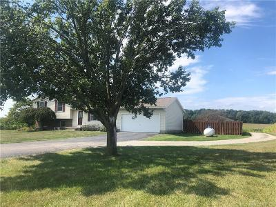South Vienna Single Family Home For Sale: 2925 Vernon Asbury Road