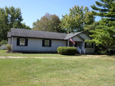 New Carlisle Single Family Home Pending/Show for Backup: 7991 National Road