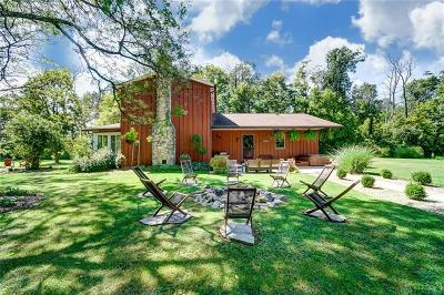 Tipp City Single Family Home Pending/Show for Backup: 6290 Troy Frederick Road
