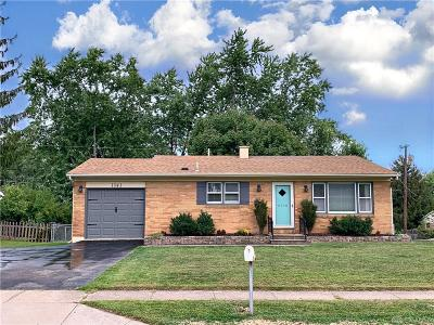 Kettering Single Family Home For Sale: 1341 David Road