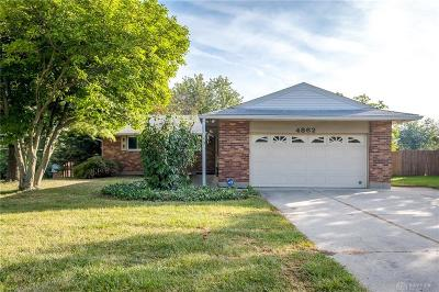 Kettering Single Family Home For Sale: 4862 Wilmington Pike
