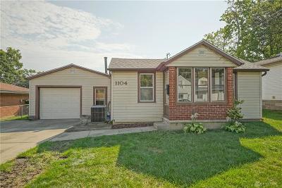 Fairborn Single Family Home For Sale: 1104 Columbia Avenue
