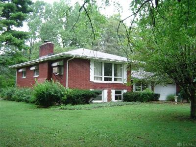 Vandalia Single Family Home For Sale: 1133 Old Springfield Road