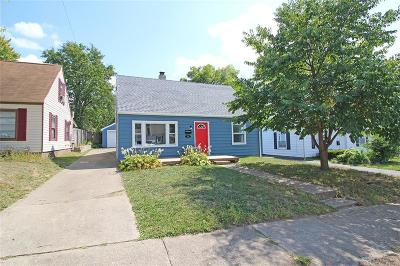 Dayton Single Family Home For Sale: 1632 Pershing Boulevard