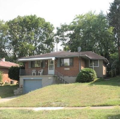 Dayton Single Family Home For Sale: 1824 Darst Avenue