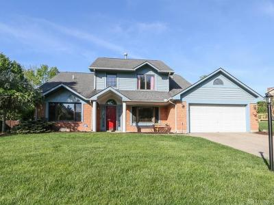 Montgomery County Single Family Home Pending/Show for Backup: 6417 Shelterglen Court