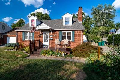 Kettering Single Family Home For Sale: 3020 Rushland Drive