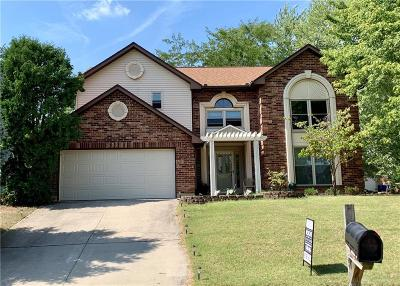 Huber Heights Single Family Home For Sale: 8751 Candlestick Lane