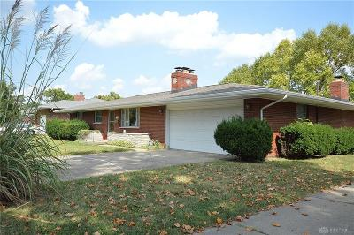 Dayton OH Single Family Home For Sale: $105,900