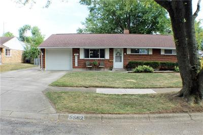 Huber Heights Single Family Home For Sale: 5562 Leibold Drive