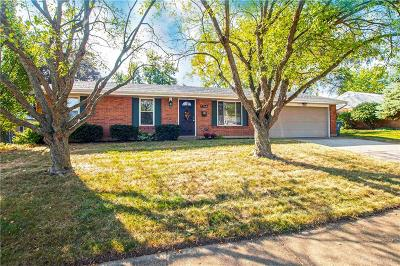 Huber Heights Single Family Home For Sale: 7164 Saffron Drive