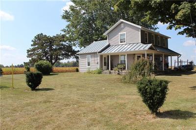 Brookville Single Family Home For Sale: 10419 Dayton Greenville Pike