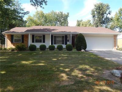 Dayton Single Family Home For Sale: 7645 Katy Drive