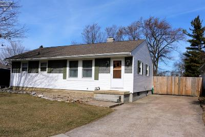 Sandusky OH Single Family Home Sold: $116,500