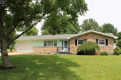 Sandusky OH Single Family Home Sold: $122,500