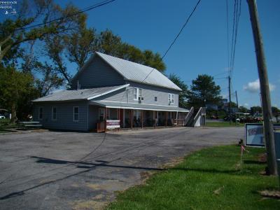 Port Clinton Commercial For Sale: 2665 E Harbor Road