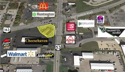 Port Clinton Commercial For Sale: 2940 East Harbor Road