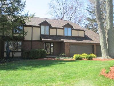 Sandusky Single Family Home For Sale: 4105 Galloway Road