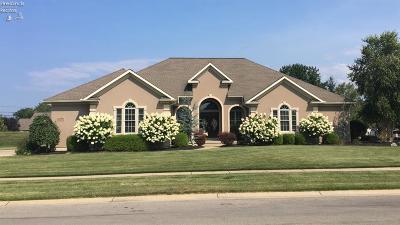 Sandusky Single Family Home For Sale: 3112 Gabriels Place