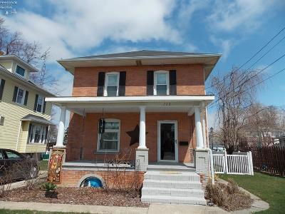 Port Clinton Single Family Home For Sale: 723 E 2nd Street