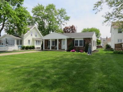 Port Clinton Single Family Home For Sale: 908 E Perry Street