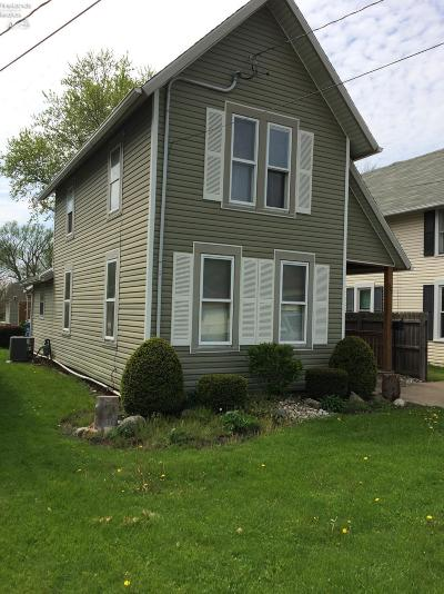 Huron OH Single Family Home For Sale: $74,900