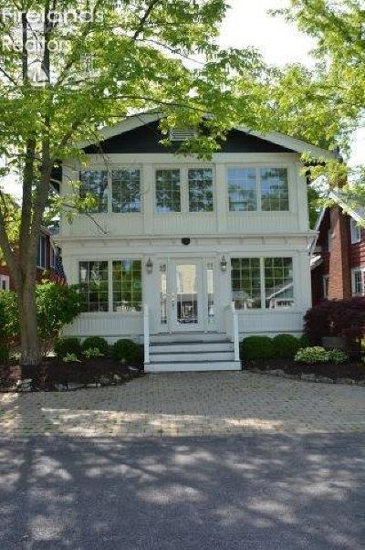 Lakeside OH Single Family Home For Sale: $755,000