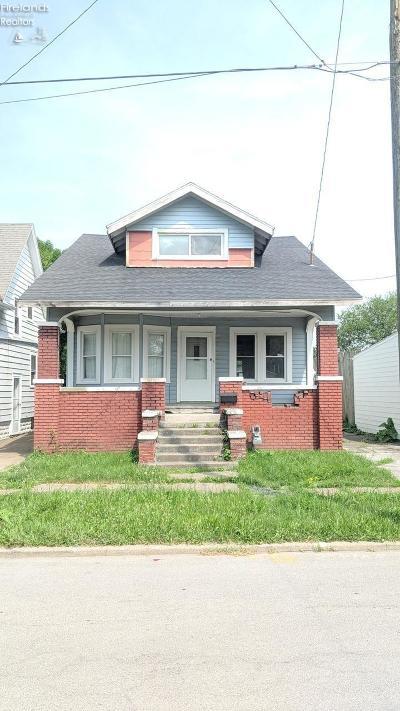 Sandusky Single Family Home For Sale: 620 McEwen Street