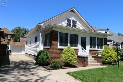 Sandusky Single Family Home For Sale: 1311 Waverly Road