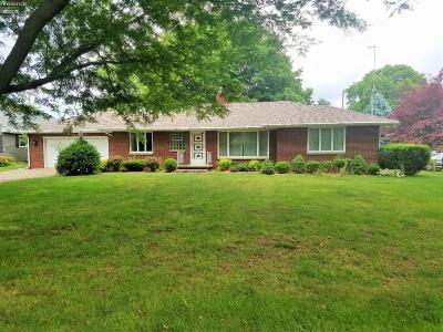 Sandusky Single Family Home For Sale: 5310 S Columbus Avenue