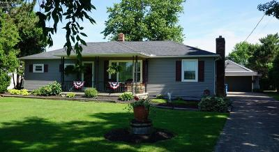 Huron OH Single Family Home For Sale: $154,900