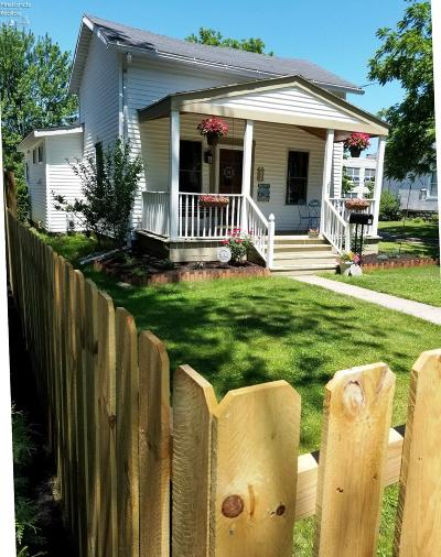Huron OH Single Family Home For Sale: $89,900