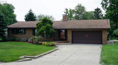 Sandusky Single Family Home For Sale: 1535 Cedar Point Road
