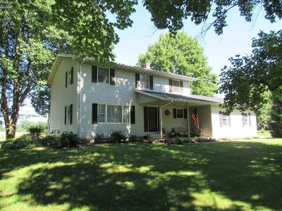 Milan Single Family Home For Sale: 13707 River Road