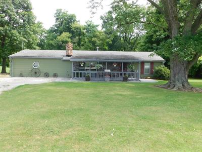 Milan Single Family Home For Sale: 11914 State Route 13